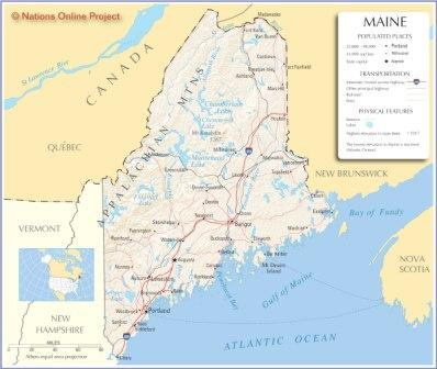 road maps of maine. Begin planning your Maine road